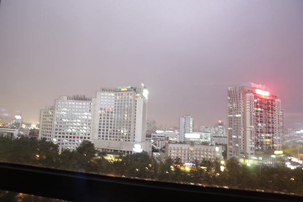Flash over Beijing