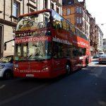 Tourist bus in my street