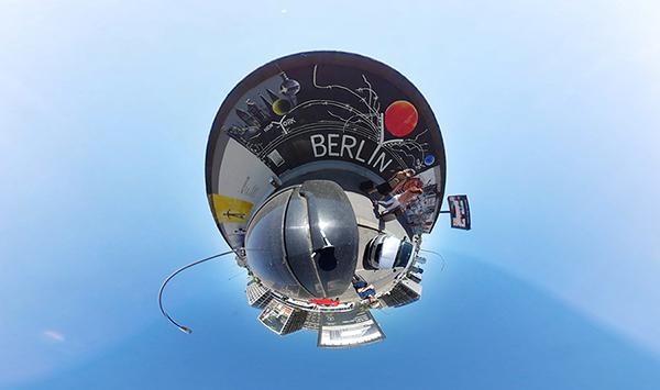 Still of 360video